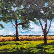 Farmhouse Trees